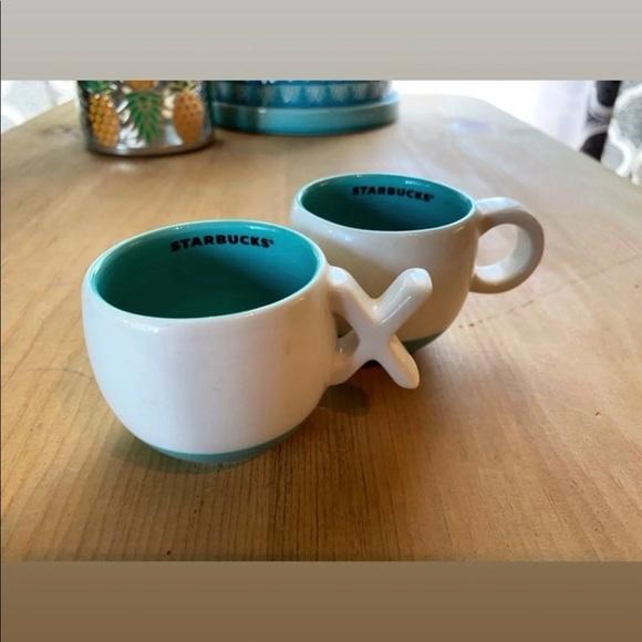 Starbucks XO Espresso Cups